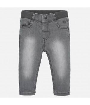 Pantaloni gri regular fit