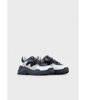 Sneaker bicolor EA