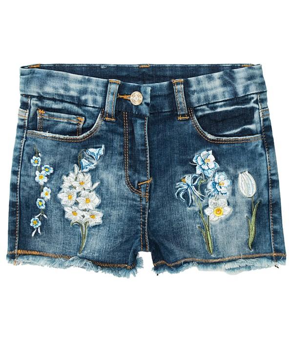 Pantaloni Scurti STRIPES AND GARDEN