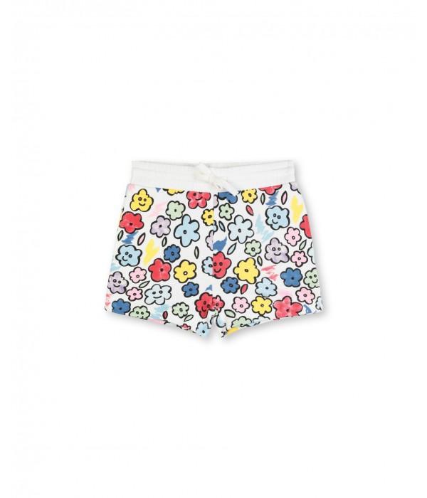 Pantaloni scurti SMILING FLOWERS