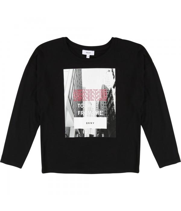 Tricou maneca lunga DKNY