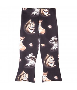 Pantaloni lungi cu veverite