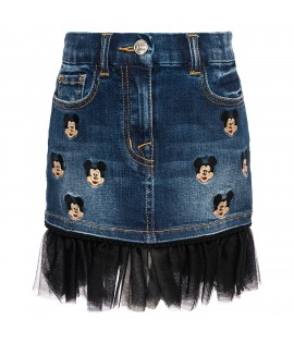 Fusta denim Mickey