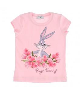Tricou roz Bugs Bunny