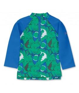 Tricou protectie UV+50 verde