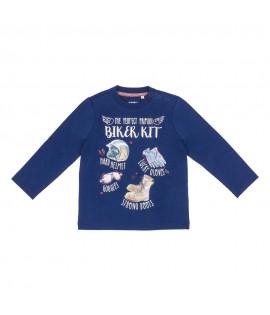 Tricou bleumarin