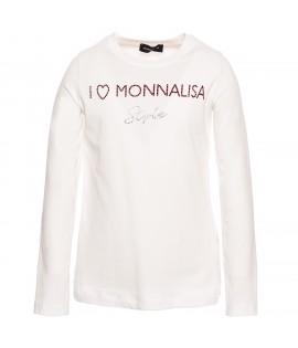 Tricou alb Monnalisa