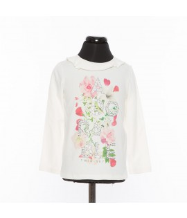 T-shirt cu flori