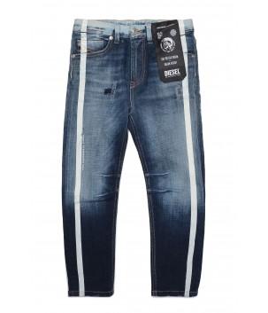 Jeans Albastru Mediu