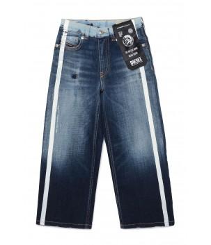 Pantaloni jeans talie inalta