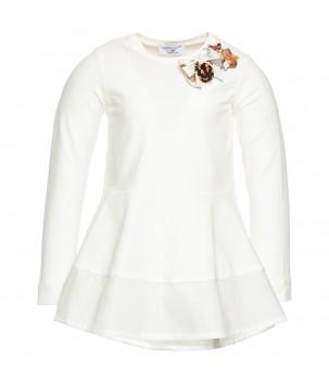 Tricou alb cu vulpe