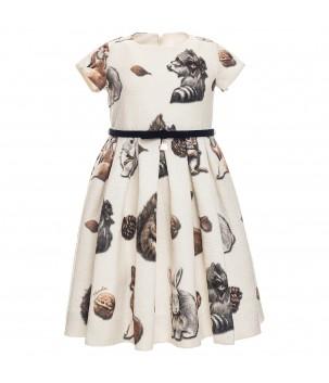 Rochie eleganta cu veverite