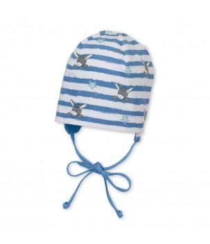 Caciula Beanie albastra