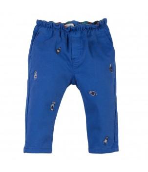 Pantaloni cu roboti