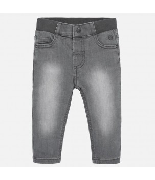 Pantaloni gri regular fit