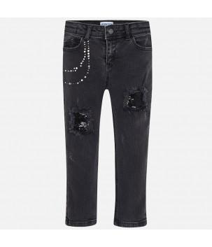 Pantaloni lungi denim