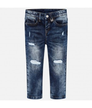 Pantaloni denim loose