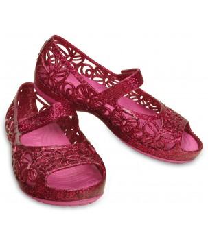 Sandale Crocs Isabella Glitter Flat