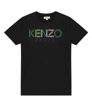 Tricou negru Logo