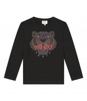 Tricou negru Tiger