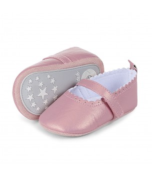 Pantofi bebelusi roz