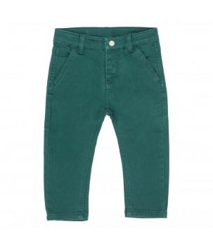 Pantaloni denim verde