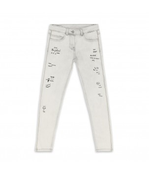 Pantaloni denim LOVELY ROCK