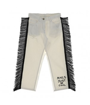 Pantaloni cu franjuri