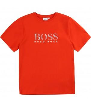 Tricou rosu Boss